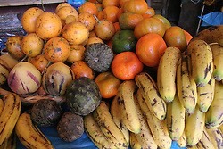Fruit at a market, Madas, Peru<br />