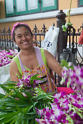 Flower seller, Bangkok
