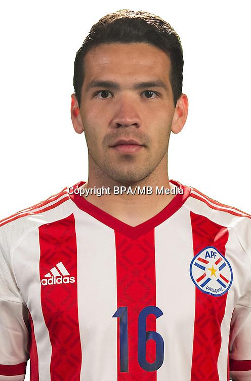Football Conmebol_Concacaf - <br />Copa America Centenario Usa 2016 - <br />Paraguay National Team - Group A - <br />Celso Fabian Ortiz