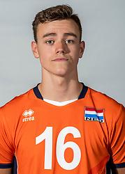 08-06-2018 NED: Photoshoot selection of Orange Young Boys, Arnhem <br /> Orange Young Boys 2018 - 2019 / Tieme de Jong #16 of Netherlands