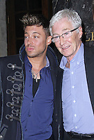 Duncan James & Paul O'Grady, Attitude Magazine - 20th Birthday Party, Grosvenor House Hotel, London UK, 29 March 2014, Photo by Brett D. Cove
