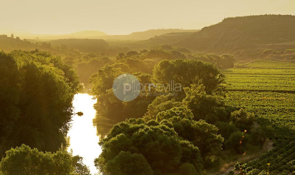 Meandro. Rio Ebro. La Rioja ©Daniel Acevedo / PILAR REVILLA