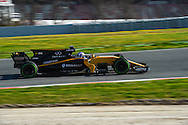 Joylon Palmer during Formula One testing at Circuit de Catalunya, Barcelona<br /> Picture by EXPA Pictures/Focus Images Ltd 07814482222<br /> 02/03/2017<br /> *** UK &amp; IRELAND ONLY ***<br /> EXPA-EIB-170302-0486.jpg
