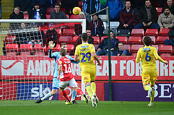 Jamie Ward of Charlton Athletic scores. - Mandatory by-line: Alex James/JMP - 24/11/2018 - FOOTBALL - The Valley - Charlton, London, England - Charlton Athletic v Bristol Rovers - Sky Bet League One