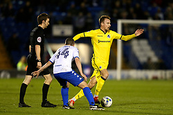Chris Lines of Bristol Rovers and Paul Caddis of Bury - Mandatory by-line: Matt McNulty/JMP - 14/03/2017 - FOOTBALL - Gigg Lane - Bury, England - Bury v Bristol Rovers - Sky Bet League One