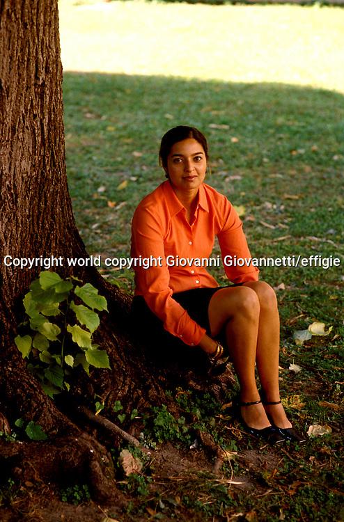 Jhumpa Lahiri<br />world copyright Giovanni Giovannetti/effigie