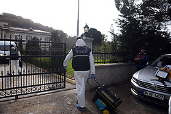 Turkish police are carrying out inspections at a villa in the northwestern province of Yalova in relation to the investigation into the killing of Saudi journalist Jamal Khashoggi, November 26, 2018. Police are searching a villa in the Samanli village of the Termal district in Yalova, Turkey. Photo by Depo Photos/ABACAPRESS.COM