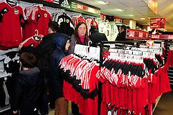 The Bristol City Club Shop on a match day - Photo mandatory by-line: Dougie Allward/JMP - Tel: Mobile: 07966 386802 29/12/2012 - SPORT - FOOTBALL - Ashton Gate - Bristol -  Bristol City v Peterborough United - Championship.