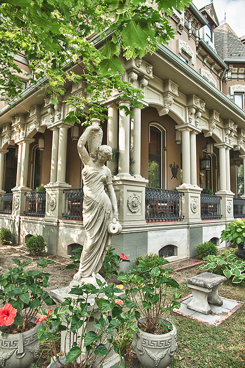 The Stegmeier Mansion in Wilkes-Barre, PA