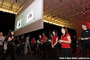 Remise des prix du concours Créa 2008 par Infopresse, Stade Uniprix , Québec, Canada, 2008, 04, 10, © Photo Marc Gibert / adecom.ca