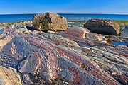 Rocky coastline along the Gulf of St. Lawrence<br />