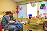 PERSON ACTION at Children's Medical Center where they are celebrating their 100th anniversary in Dallas on Wednesday, April 3, 2013. (Cooper Neill/The Dallas Morning News)