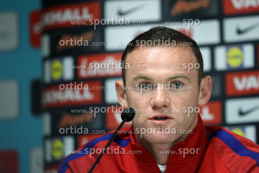 during press conference 1 day before football match between National teams of Slovenia and England in Round #3 of FIFA World Cup Russia 2018 qualifications in Group F, on October 10, 2016 in SRC Stozice, Ljubljana, Slovenia. Photo by Morgan Kristan / Sportida