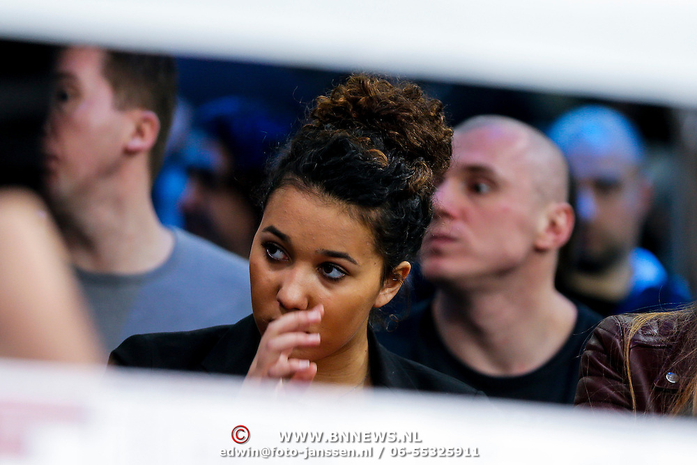 CRO/Zagreb/20130315- K1 WGP Finale Zagreb, dochter Joelle Gullit