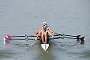 Plovdiv BULGARIA. 2017 FISA. Rowing World U23 Championships. <br /> USA BM2X. Bow. MONTALVO, Nicholas and PEREZ, Daniel<br /> Friday Semi Finals C/D <br /> <br /> 16:52:25  Friday  21.07.17   <br /> <br /> [Mandatory Credit. Peter SPURRIER/Intersport Images].