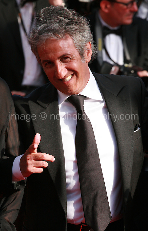 Actor Richard Anconina at the Palme d'Or  Closing Awards Ceremony red carpet at the 67th Cannes Film Festival France. Saturday 24th May 2014 in Cannes Film Festival, France.
