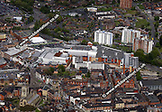 aerial photograph of  Grand Arcade Shopping Centre Wigan WN1 1BH Wigan Lancashire England UK