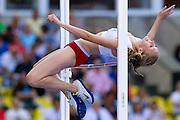Kamila Stepaniuk from Poland competes in women's high jump final during the 14th IAAF World Athletics Championships at the Luzhniki stadium in Moscow on August 17, 2013.<br /> <br /> Russian Federation, Moscow, August 17, 2013<br /> <br /> Picture also available in RAW (NEF) or TIFF format on special request.<br /> <br /> For editorial use only. Any commercial or promotional use requires permission.<br /> <br /> Mandatory credit:<br /> Photo by &copy; Adam Nurkiewicz / Mediasport