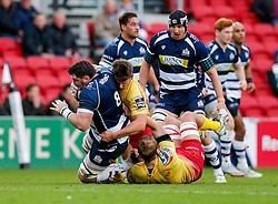 - Mandatory byline: Rogan Thomson/JMP - 22/11/2015 - RUGBY UNION - Ashton Gate Stadium - Bristol, England - Bristol Rugby v Scarlets Premiership Select - B&I Cup.