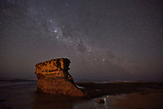 The Milky Way over Bird Rock