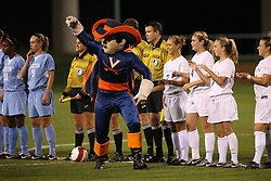 The Virginia Cavaliers Women's Soccer Team fell the University of North Carolina Tar Heels 2-0 on October 5, 2006 at Klöckner Stadium in Charlottesville, VA...