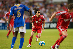 Hong Kong, China - Friday, July 27, 2007: Liverpool's Yossi Benayoun in action against Portsmouth during the final of the Barclays Asia Trophy at the Hong Kong Stadium. (Photo by David Rawcliffe/Propaganda)