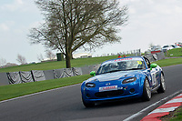 #10 Ciaran COOPER/Robin COOPER Mazda MX5  during Cartek Club Enduro Championship as part of the 750 Motor Club at Oulton Park, Little Budworth, Cheshire, United Kingdom. April 14 2018. World Copyright Peter Taylor/PSP.