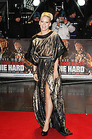 Kimberly Wyatt, A Good Day To Die Hard - UK Film Premiere, Empire Cinema Leicester Square, London UK, 07 February 2013, (Photo by Richard Goldschmidt)