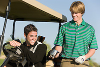 Golfers Looking at New Driver