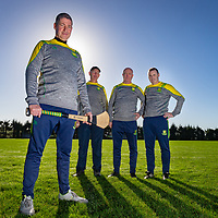 Feakles Management Team Val Donnellan, Jim Loughnane, Michael Guilfoyle and Stephen Moloney
