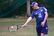 Otago Volts coach Vaughn Johnson during the Otago Volts Training Session training session prior to the start of the Karbonn Smart CLT20 2013 held at the PCA Stadium in Mohali on the 16th September 2013<br /> <br /> Photo by Shaun Roy-CLT20-SPORTZPICS <br /> <br /> Use of this image is subject to the terms and conditions as outlined by the BCCI. These terms can be found by following this link:<br /> <br /> http://www.sportzpics.co.za/image/I0000SoRagM2cIEc