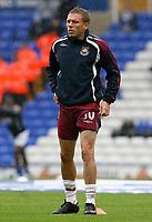 Photo: Steve Bond.<br />Birmingham City v West Ham United. The FA Barclays Premiership. 18/08/2007. Craig Bellamy warms up