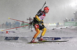 05.01.2012, DKB-Ski-ARENA, Oberhof, GER, E.ON IBU Weltcup Biathlon 2012, Staffel Herren, im Bild Simon Schempp (GER) // during relay Mens of E.ON IBU World Cup Biathlon, Thüringen, Germany on 2012/01/05. EXPA Pictures © 2012, PhotoCredit: EXPA/ nph/ Hessland..***** ATTENTION - OUT OF GER, CRO *****