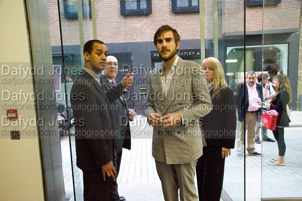 OSCAR HUMPHRIES, Tracey Emin opening. White Cube. Mason's Yard. London. 28 May 2009.