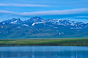 Two Moose Lake, Dempster Highway, Yukon, Canada