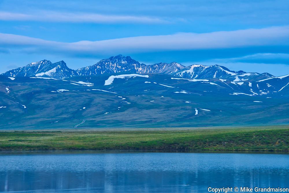 Two Moose Lake, Dempster Highway, Yukon, Canada