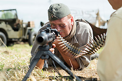 1 GD weapons handling and safety MG42<br />  17 July 2016<br />  Copyright Paul David Drabble<br />  www.pauldaviddrabble.photoshelter.com