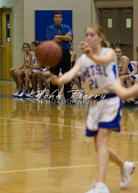 Wetsel Girls vs Luray.January 3, 2005