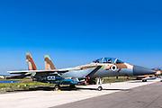 Israeli Air force (IAF) Fighter jet F-15I (Raam)on the ground