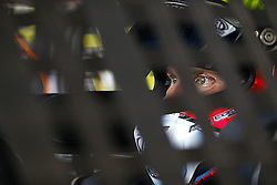 November 18, 2017 - Homestead, Florida, United States of America - November 18, 2017 - Homestead, Florida, USA: Trevor Bayne (6) straps into his car to practice for the Ford EcoBoost 400 at Homestead-Miami Speedway in Homestead, Florida. (Credit Image: © Chris Owens Asp Inc/ASP via ZUMA Wire)