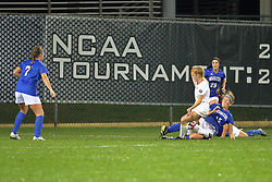 04 November 2016:  Kasey Wallace(15) during an NCAA Missouri Valley Conference (MVC) Championship series women's semi-final soccer game between the Indiana State Sycamores and the Illinois State Redbirds on Adelaide Street Field in Normal IL