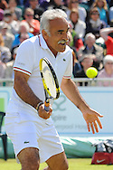 Picture by Ste Jones/Focus Images Ltd.  07706 592282.24/06/12.Showman Mansour Bahrami during the +medicash Liverpool International 2012 tennis at Calderstones Park, Liverpool.