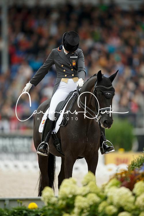Barbancon Mestre Morgan, (ESP), Painted Black<br /> Grand Prix Kur<br /> European Championships - Aachen 2015<br /> &copy; Hippo Foto - Dirk Caremans<br /> 16/08/15