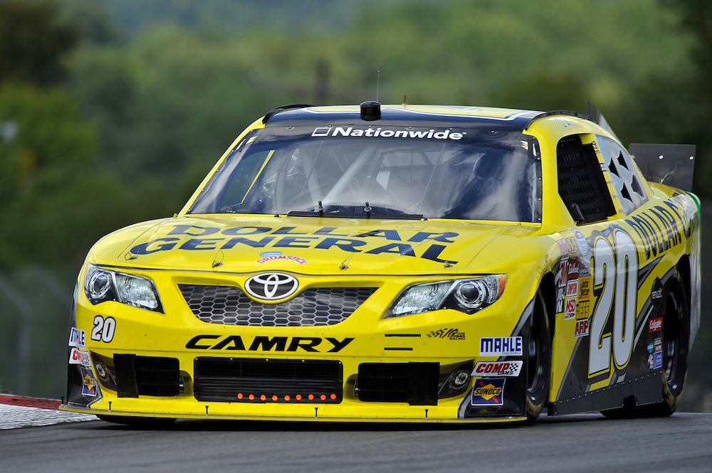 15-17 August, 2013, Lexington, Ohio USA<br /> Brian Vickers, Dollar General Toyota Camry<br /> &copy;2013 Scott R LePage / LAT Photo USA