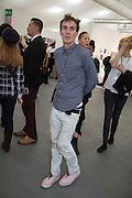 LOUIE SIMPSON, The VIP preview of Frieze. Regent's Park. London. 16 October 2013