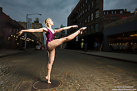 Meat Packing District New York City Dance As Art Photography Project featuring ballerina Erika Citrin