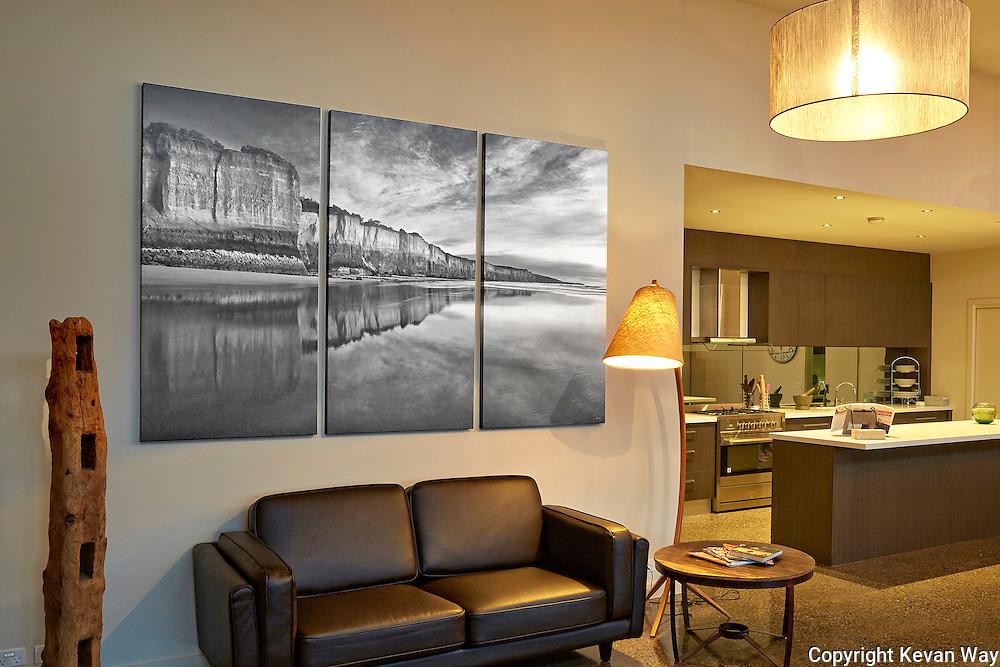 Torquay house (triptych-each panel 160x80cm)