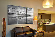 Torquay house (triptych-each panel 160x80cm)