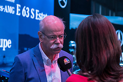 Dieter Zetsche Chairman of the Board of Directors of Daimler AG and Head of Mercedes-Benz Cars at 87th Geneva International Motor Show in Geneva Switzerland 2017