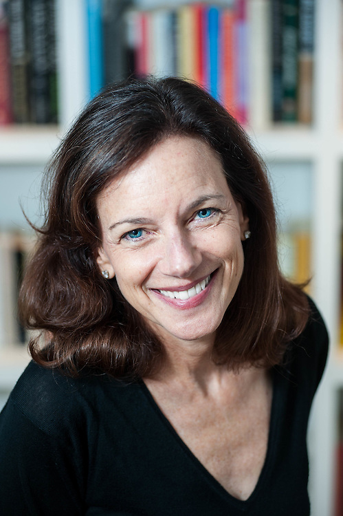Founder and Executive Director of the Boston Book Festival, Debbie Porter, photographed in her Cambridge, MA, home.